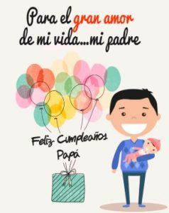 Feliz Día de Cumpleaños Papá Cariñoso