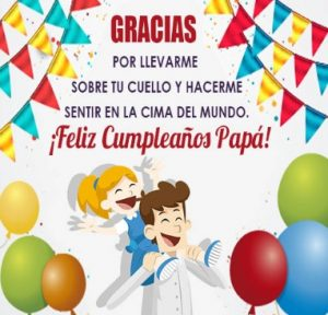 Feliz Día de Cumpleaños Papá Juguetón