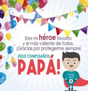 Feliz Día de Cumpleaños Papá Protector