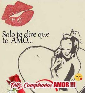 Feliz Día de Cumpleaños Amor