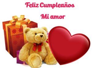 Feliz Día de Cumpleaños Amor Dulce