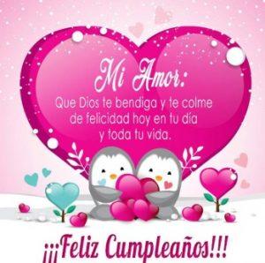 Feliz Día de Cumpleaños Amor Genuino