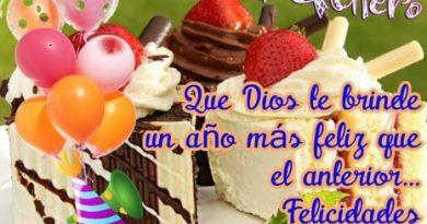 Feliz Día de Cumpleaños Amor Mío