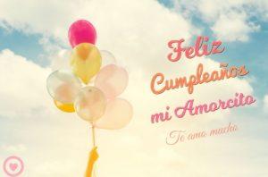 Feliz Día de Cumpleaños Amor de mi Corazón