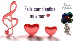 Feliz Día de Cumpleaños Amorcito