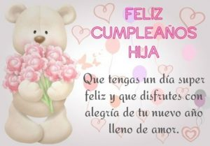 Feliz Día de Cumpleaños Hija Querida