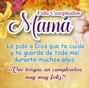 Feliz Día de Cumpleaños Mamá Bondadosa