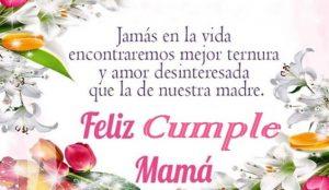 Feliz Día de Cumpleaños Mamá Cariñosa