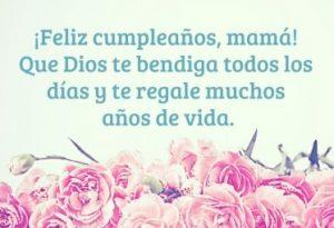 Feliz Día de Cumpleaños Mamá Genial