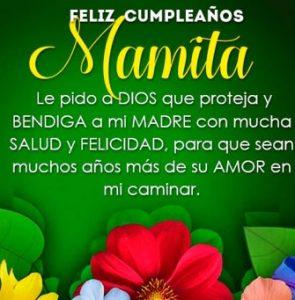 Feliz Día de Cumpleaños Mamá Protectora