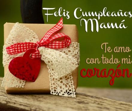 Feliz Día de Cumpleaños Mamá