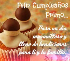 Feliz Día de Cumpleaños Primo Estimado