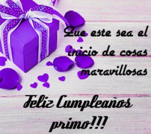 Feliz Día de Cumpleaños Primo Serio