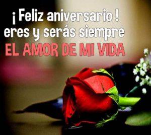 Feliz Aniversario Amor