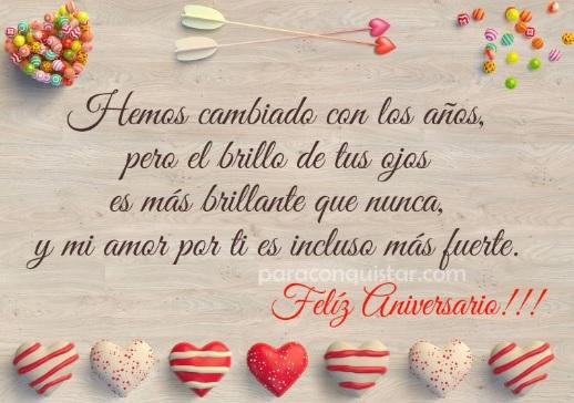 """Feliz Aniversario Amor Frases: Las Más Hermosas Imágenes Con Frases De """"Feliz Aniversario"""