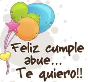 Feliz Día de Cumpleaños Abue