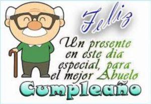 Feliz Día de Cumpleaños Abuelito Lindo