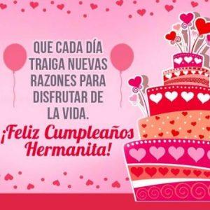 Feliz Día de Cumpleaños Hermana Bondadosa