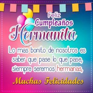 Feliz Día de Cumpleaños Hermana Querida