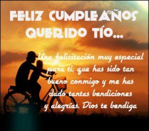 Feliz Día de Cumpleaños Tío Alegre