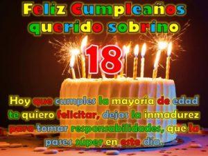 Feliz Cumpleaños 18