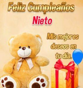 Feliz Cumpleaños Adorable Nieto