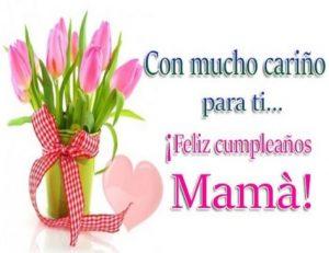 Feliz Cumpleaños Madre Hermosa