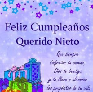 Feliz Cumpleaños Nieto Amado