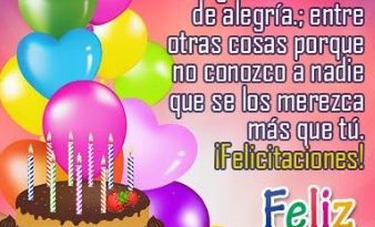 Feliz cumpleaños Nieto Travieso