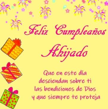 Feliz Cumpleaños Ahijado Travieso