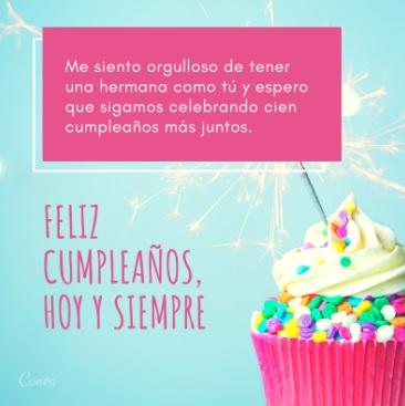 Feliz Cumpleaños Amada Hermana