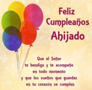 Feliz Cumpleaños Apreciado Ahijado