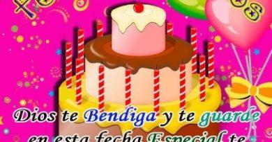 Feliz Cumpleaños Prima Amada