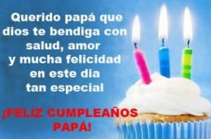 Feliz Cumpleaños Querido Papá