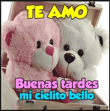 Buenas Tardes Te Amo