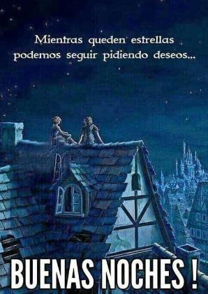 Buenas noches Pide un deseo