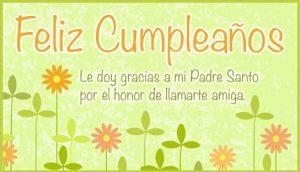 Feliz Cumpleaños Apreciada Amiga