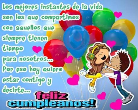 Feliz Cumpleaños Cariño