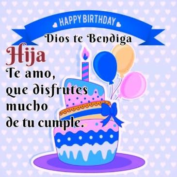 Feliz Cumpleaños Hija Bendita