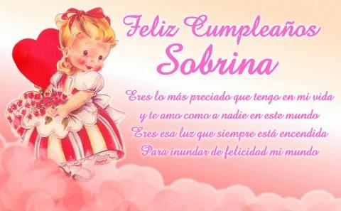Feliz Cumpleaños Linda Sobrina