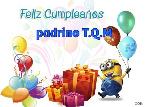 Feliz Cumpleaños Padrino Exitoso