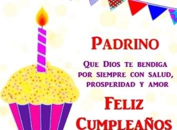 Feliz Cumpleaños Padrino Querido