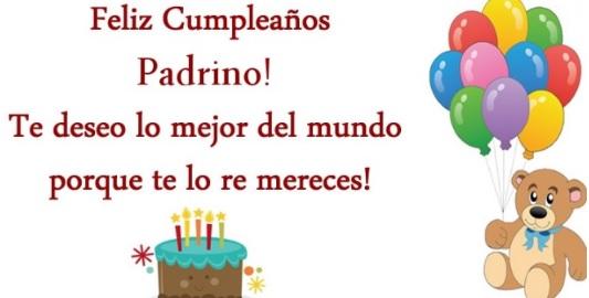 Feliz Cumpleaños Padrino Trabajador