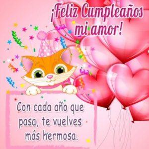 Feliz Cumpleaños Princesa Hermosa