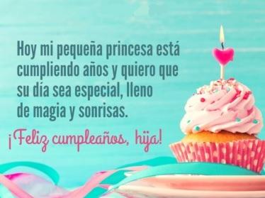 Feliz Cumpleaños Querida Hija