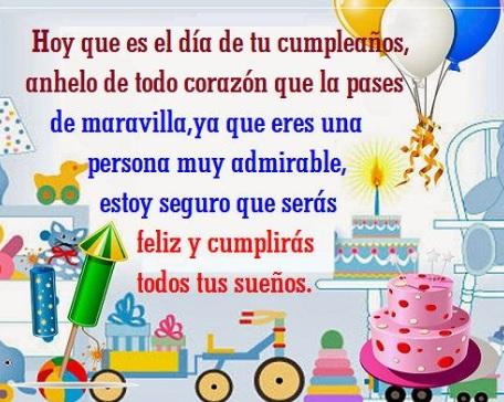 Feliz Cumpleaños Sobrina Bella