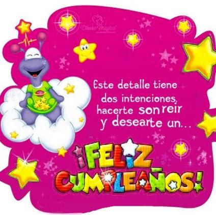 Feliz cumpleaños Bella Niña