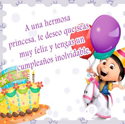 Feliz cumpleaños Linda Niña