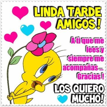 Linda Tarde Amigos