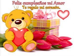 Tarjetas de Feliz Cumpleaños Para Una Enamorada Romántica